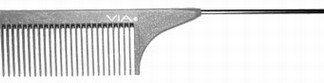 Via SG505 Silicon Graphite Wide Space Tail Comb 6 PK