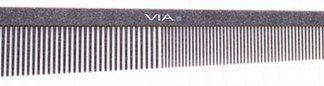 Via SG510 Silicon Graphite Tapering Comb 6 PK