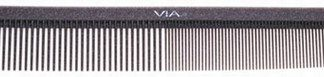 Via SG535 Silicon Graphite Comb Long Styling 6 PK