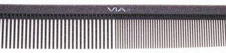 Via SG535 Silicon Graphite Comb Long Styling 6 PK