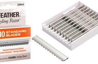 Feather Standard Razor Blades 12 x 10pks (120 Blades)