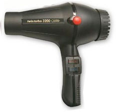 TurboPower 324 TwinTurbo 3200 Hair Dryer BLACK Reg $137 NOW 126.99