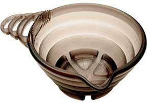 Y.S. Park Tint Bowl - Clear Black