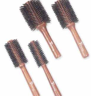 Turbo Power Boar Bristle Brushes with Wood Handles