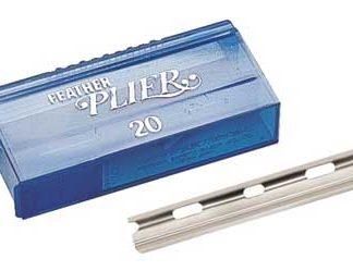 Feather Plier Razor/Blades 2 x 20pk $25