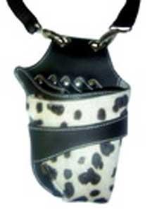 Leather & Goatskin 5 Shear Holster Multi Item Webbed Belt