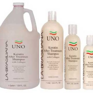 La-Brasiliana Uno After Treatment Shampoo, 4, 16, 33, 67, 135 oz