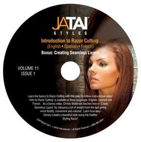 JATAI Feather Styles DVD: Intro to Razor Cutting