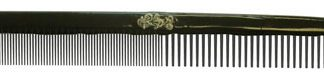 """BW-CARBON-ART 285-2 Wh Sparkly Filigree 8.5"""" Order QTY 6"""