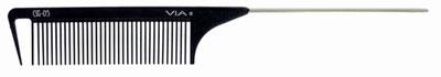 Via CSG #05 Carbon Silicone Graphite Wide Space Tail Comb 6PK