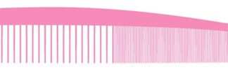 VIA VCP #30 Pink Carbon Silicone Graphite Comb - Lg Control 6 PK
