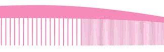 VIA VCP #30 Pink Carbon Silicone Graphite Comb - Lg Control 6 PK