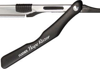 Feather Nape & Body Razor BLACK