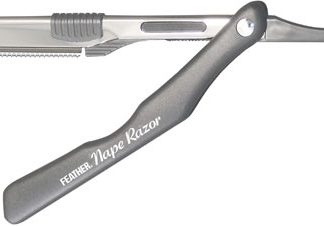 Feather Nape & Body Razor GREY