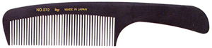BW Carbon Clip Wide Handle Comb - Order Qty 6
