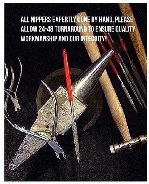 Cuticle Nipper Sharpening-0