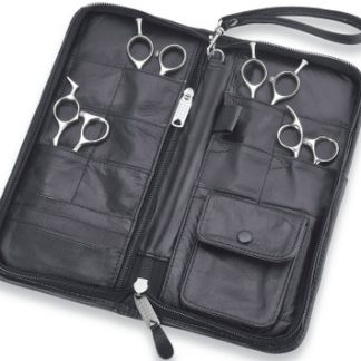 Kasho 12 Shear Zipper Case Leather